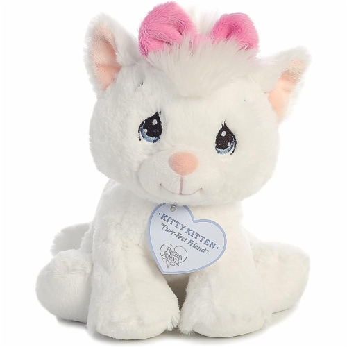 Precious Moments Stuffed Animal Kitty Kitten Perspective: front