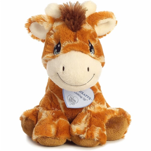 Raffie Giraffe 8 inch - Baby Stuffed Animal by Precious Moments (15709) Perspective: front