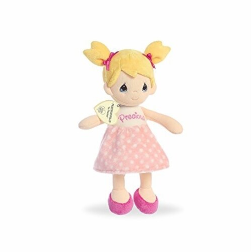 Aurora Precious Moments Polly Plush Doll, 10-Inches Perspective: front