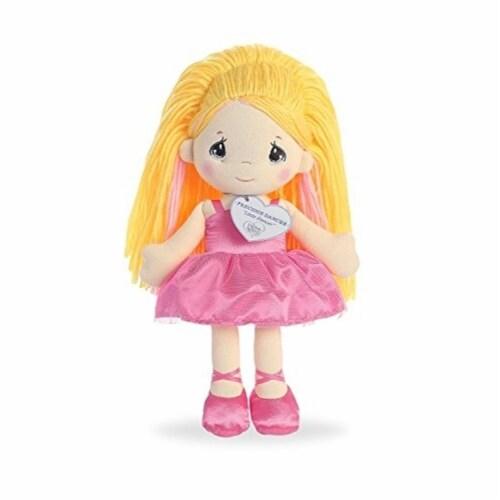 Aurora World Precious Moments Dancer Doll Little Dancer Plush Perspective: front