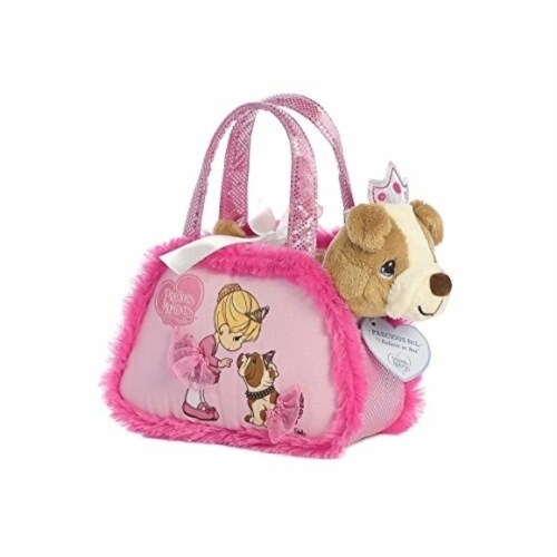 "Aurora World Precious Moments Fancy Pal Purse ""I Believe In You"" Plush Perspective: front"