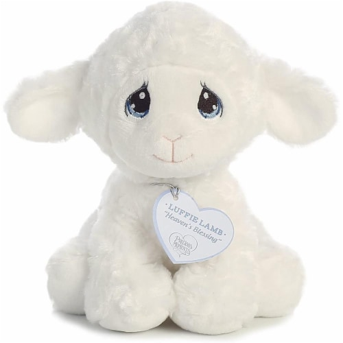 Aurora World Precious Moments Luffie Lamb, White, Small Perspective: front