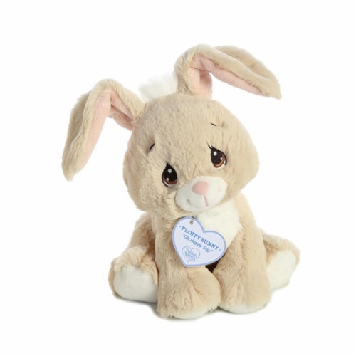 Floppy Tan Bunny 8.5 inch - Stuffed Animal by Precious Moments (15752) Perspective: front
