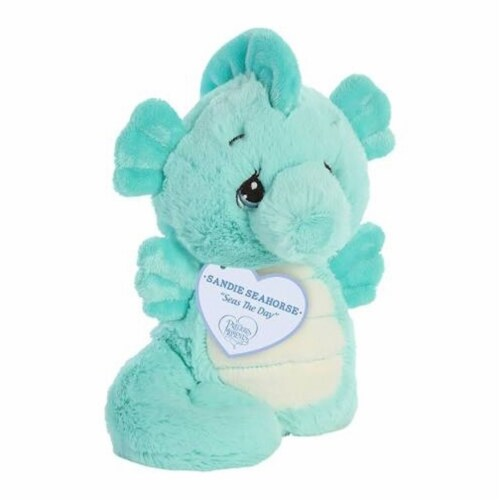 Aurora World Precious Moments Plush Animal, Sandie Seahorse Perspective: front
