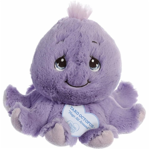 "Aurora World Precious Moments 8"" Plush Figure - Tako Octopus Perspective: front"