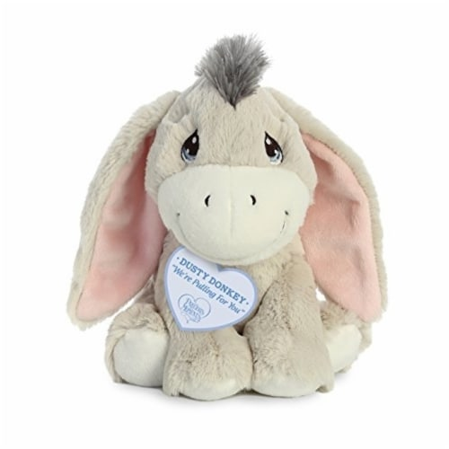 Aurora World Precious Moments Dusty Donkey Plush Perspective: front