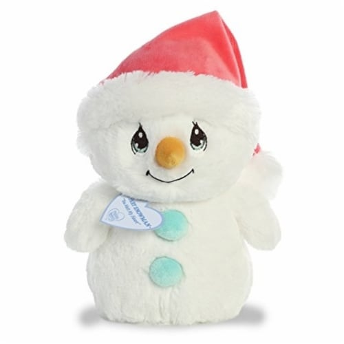 "Aurora World Precious Moments Flurry Snowman 8.5"" Plush Perspective: front"