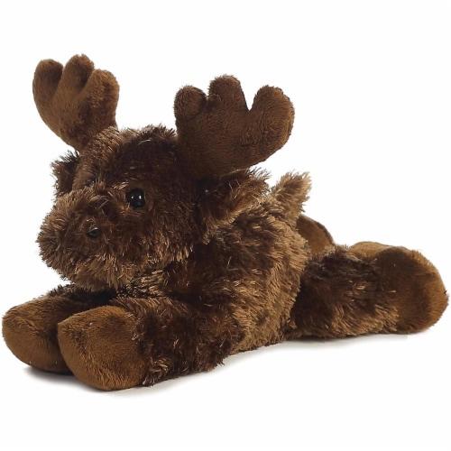 "Aurora Plush Maxamoose Moose Mini Flopsie 8"" Perspective: front"