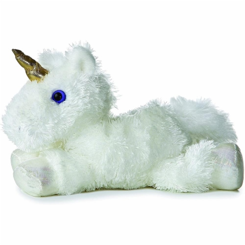 "Aurora 8"" Celestial Unicorn Mini Flopsie Perspective: front"
