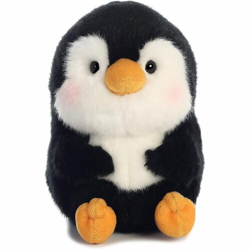 """Aurora World Rolly Pet Peewee Penguin Plush, 5"""" Perspective: front"""