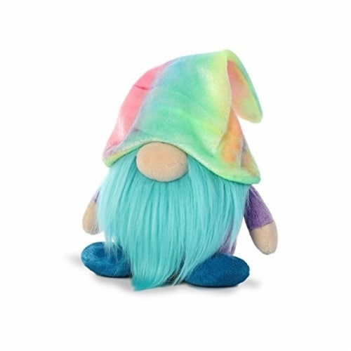 Aurora World Plush Gnomlin, Zoobie Tie Dye Gnome Perspective: front