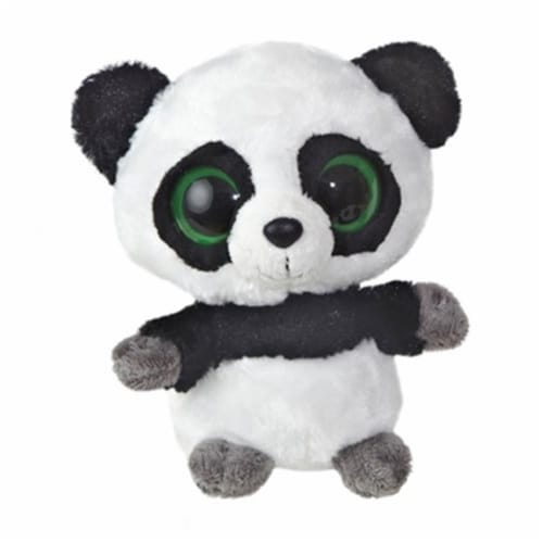 """Ring Ring 5"""" YooHoo Plush Panda with Sound by Aurora - 29004 Perspective: front"""