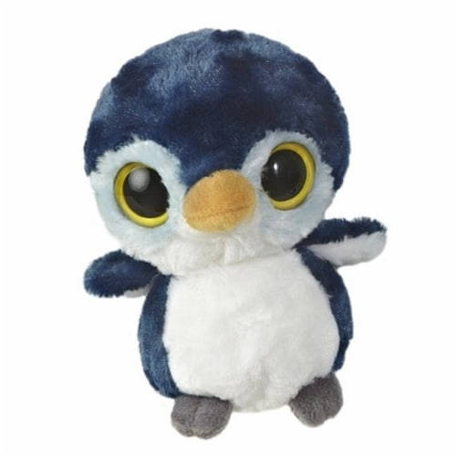 """KooKee 5"""" YooHoo Plush Penguin with Sound by Aurora - 29008 Perspective: front"""