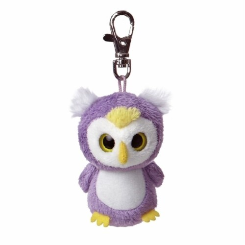Loonee YooHoo Plush Owl Clip On by Aurora - 29053 Perspective: front
