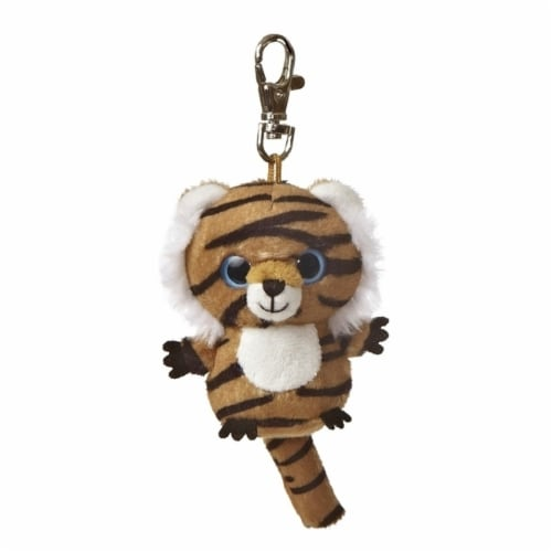Aurora World Jinxee YooHoo Plush Tiger Clip On Perspective: front