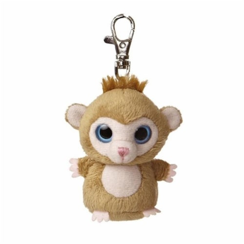 Luvee YooHoo Plush Monkey Clip On by Aurora - 29058 Perspective: front