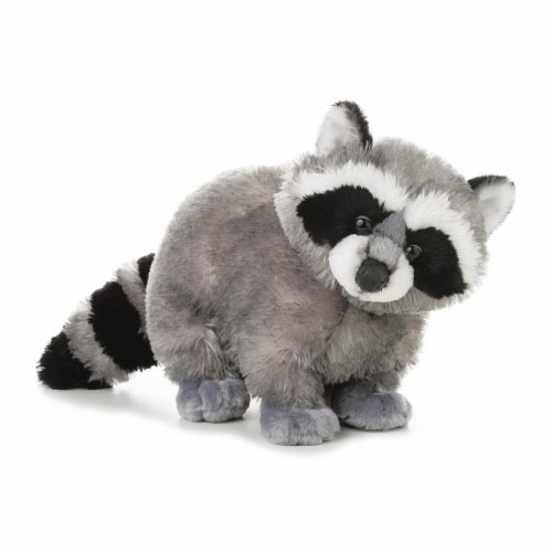"Aurora Plush 12"" Bandit the Racoon Flopsie Perspective: front"