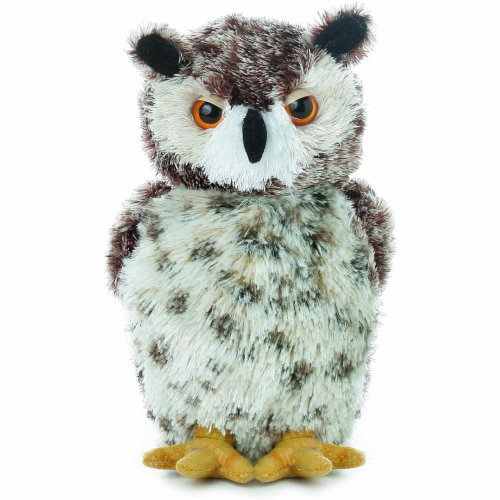 """Osmond Horned Owl 6.5"""" by Aurora Perspective: front"""