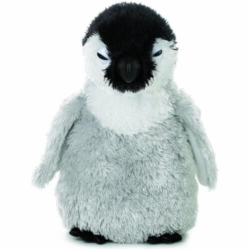 "Aurora Plush Mini Flopsie Baby Emperor Penguin 6.5"" Perspective: front"