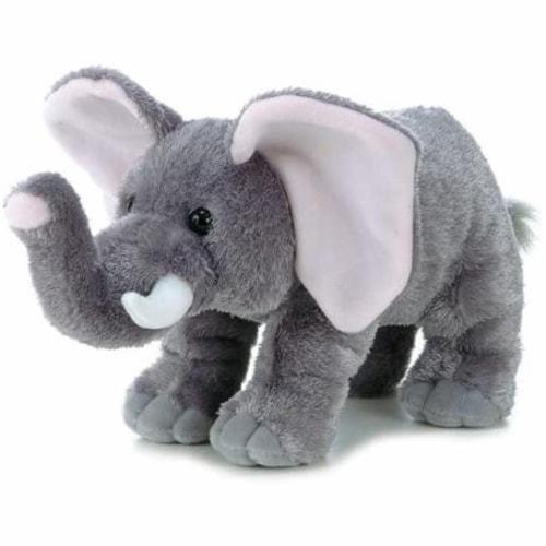 "Peanut Elephant Flopsie - 12"" Perspective: front"
