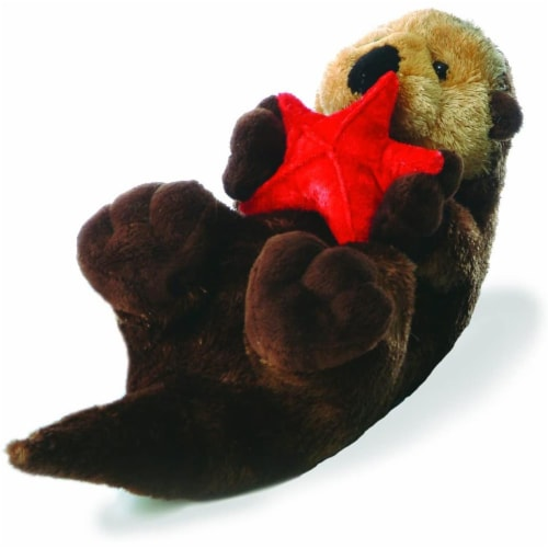 "Aurora World 12"" Flopsie Plush Cali the Otter Perspective: front"