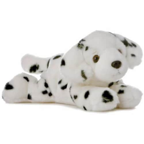 "Domino The Dalmation 12"" Plush Flopsie by Aurora - 31144 Perspective: front"