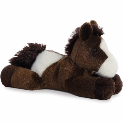 "Paint Horse Mini Flopsie 8"" Plush by Aurora - 31171 Perspective: front"