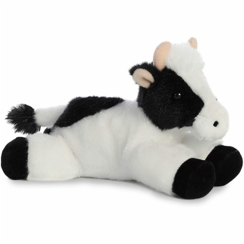 "Aurora World Inc. 31175 8"" Mini Moo Plush Cow Perspective: front"