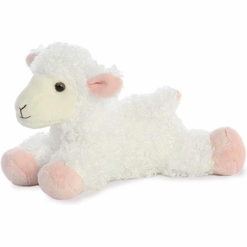 "Aurora Plush Lana Lamb Mini Flopsie 8"" by Aurora Perspective: front"