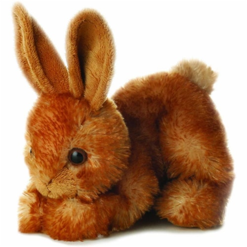"Aurora World 8"" Mini Flopsie Plush Bitty the Bunny Perspective: front"