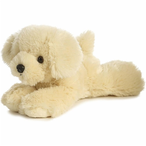 "Bailie Golden Retriever Mini Flopsie 8"" Plush by Aurora - 31252 Perspective: front"