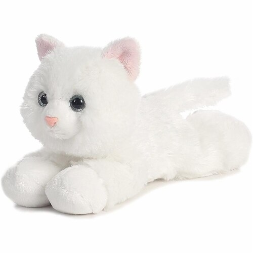 "Sugar Too The Cat Mini Flopsie 8"" Plush by Aurora - 31265 Perspective: front"