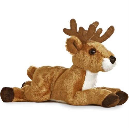 """Aurora 8"""" Mini Flopsie Deer Perspective: front"""