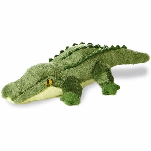 """Swampy Alligator Mini Flopsie 8"""" by Aurora Perspective: front"""