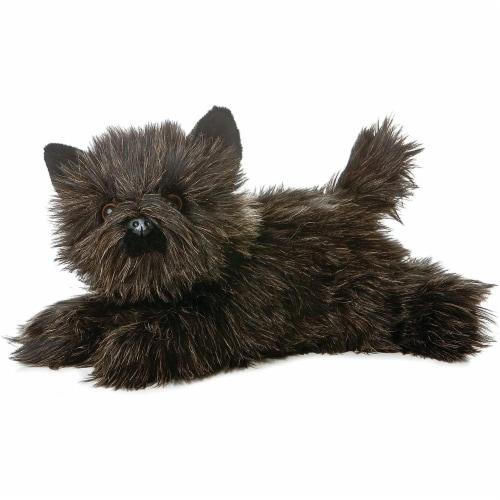 """Aurora World 12"""" Flopsie Plush Flopsie Toto the Terrier Perspective: front"""