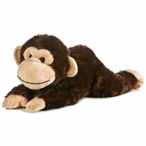 "Chimp Flopsie 12"" Plush by Aurora - 31423 Perspective: front"