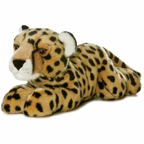 "Aurora World 12"" Flopsie Plush Cheetah 12"" Perspective: front"