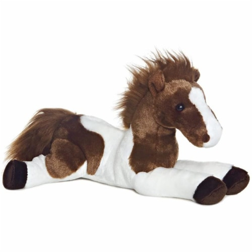 "Tola the Horse Flopsie 12"" Plush by Aurora - 31477 Perspective: front"