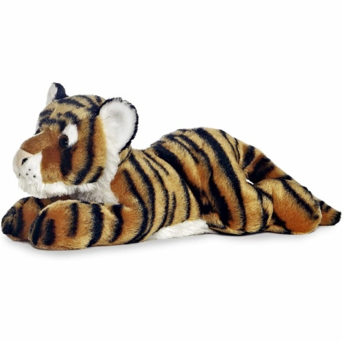 "Indira the Tiger Flopsie 12"" Plush by Aurora - 31510 Perspective: front"