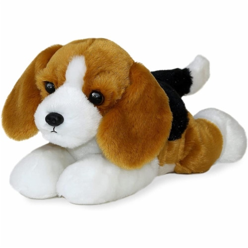 "Buddy the Beagle Flopsie 12"" Plush by Aurora - 31518 Perspective: front"