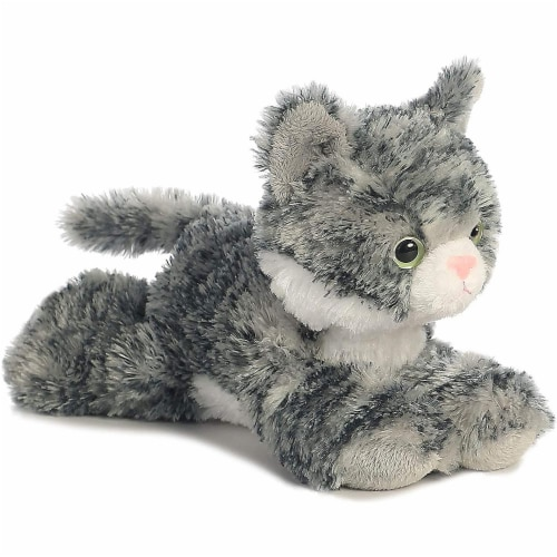 Toy Dolphin Stuffed Animal, Fry S Food Stores Aurora World 8 Mini Flopsie Plush Lily The Gray Tabby 1