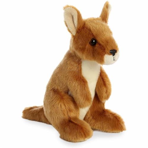 """Aurora World 8"""" Mini Flopsie Plush Toy, Kangaroo Perspective: front"""