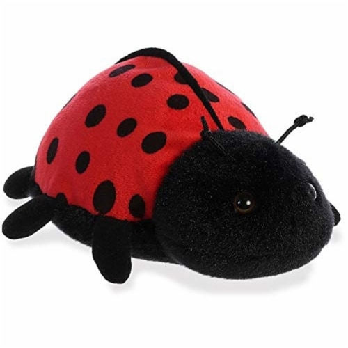 "Aurora World Inc. 8"" Ladybug-Ladybird Stuffed Animal Perspective: front"