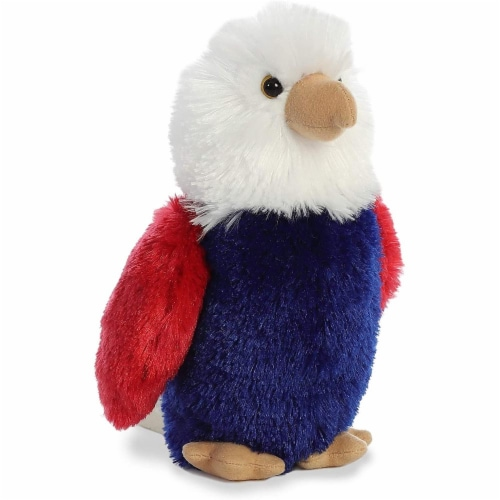 "Aurora World Inc. 8"" Justice the Eagle Stuffed Animal Perspective: front"