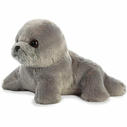 "Aurora World Inc. 8"" HARPO Seal Stuffed Animal Perspective: front"