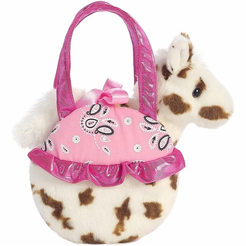 Aurora World Fancy Pals Pinto Pop Pet Carrier Perspective: front