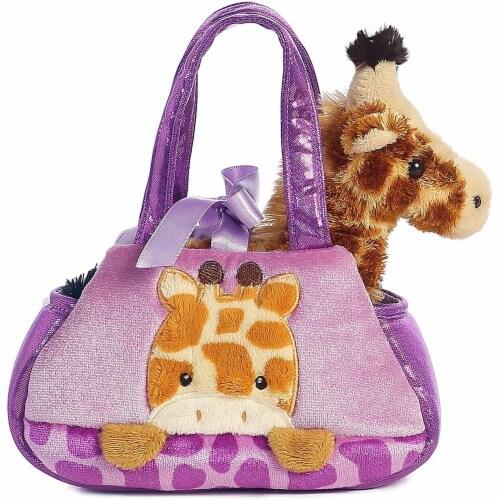 Aurora World Fancy Pals Peek-A-Boo Giraffe Pet Carrier Perspective: front
