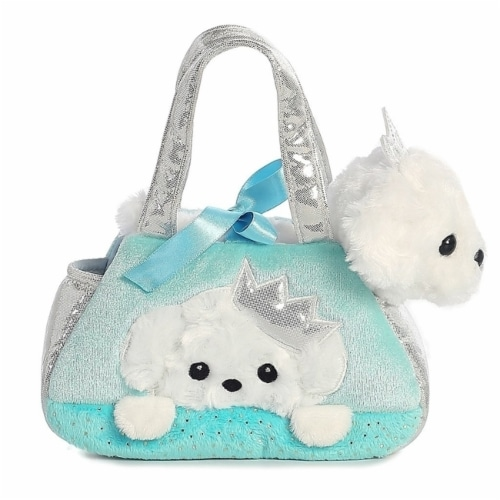 Fancy Pals Peek-A-Boo Princess Puppy 7 Inch Pet Carrier Perspective: front