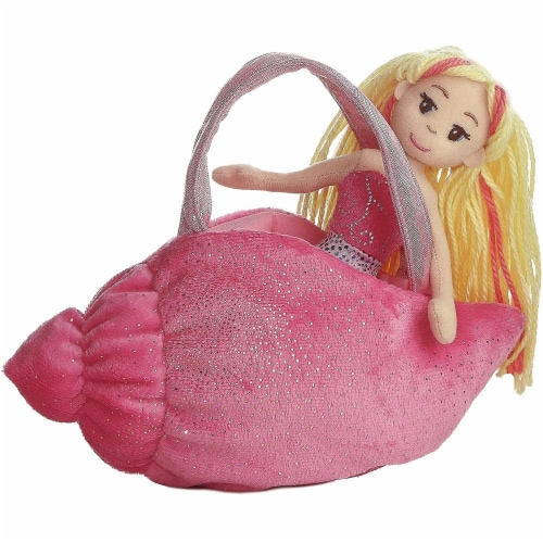 Aurora World Pink Conch Fancy Pals Carrier Perspective: front