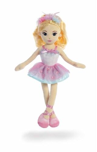 Aurora World Ballerina Mia Doll Plush Perspective: front